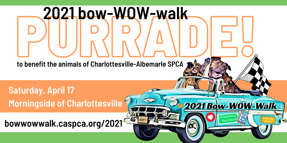 bow-WOW-walk PURRADE! Sat, April 17th
