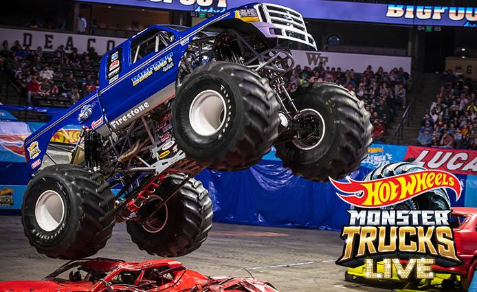 Hot Wheels Monster Trucks Live; October 9th, 2021