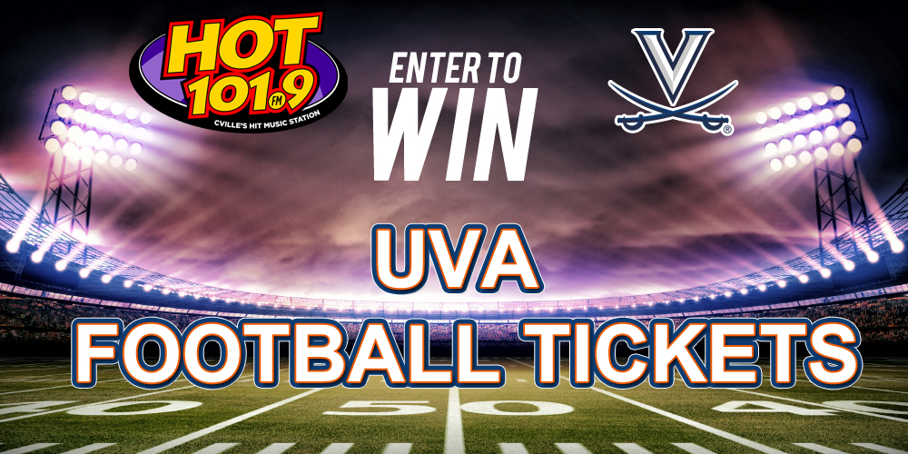 ENTER TO WIN UVA FOOTBALL TICKETS FROM HOT 101.9