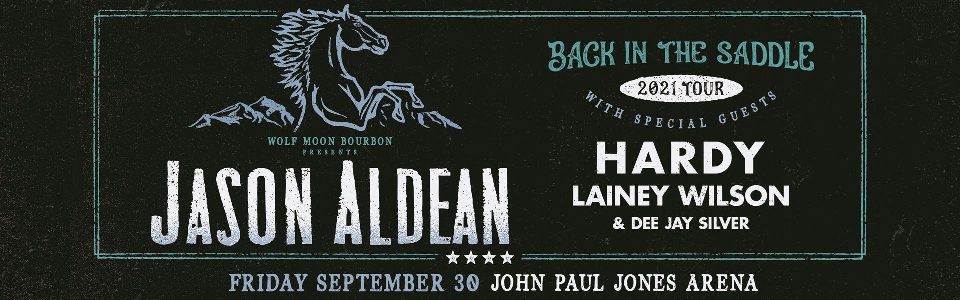 Jason Aldean: Rescheduled to 9/30/22