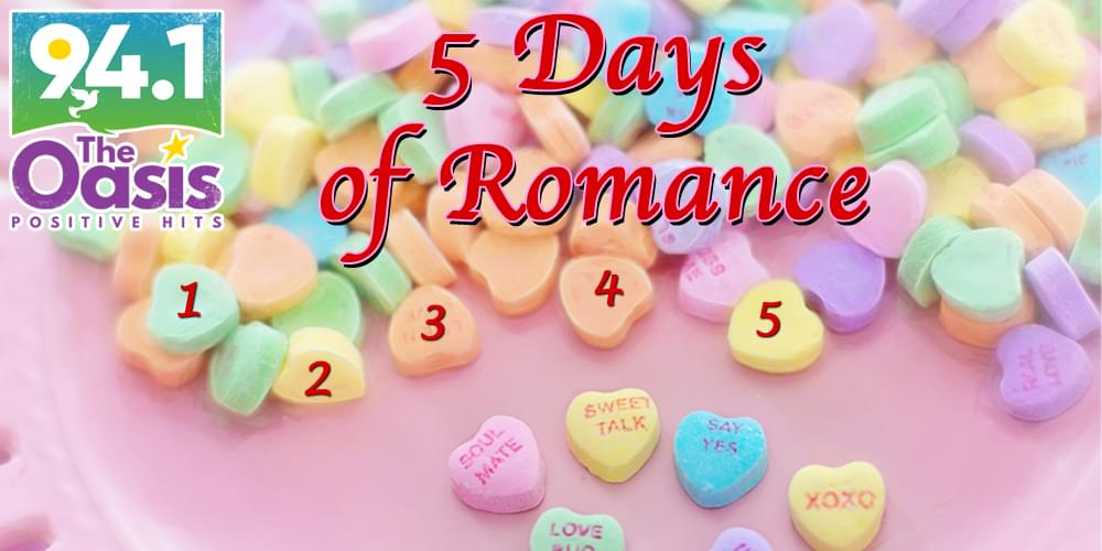 Click Here to WIN: 5 Days of Romance
