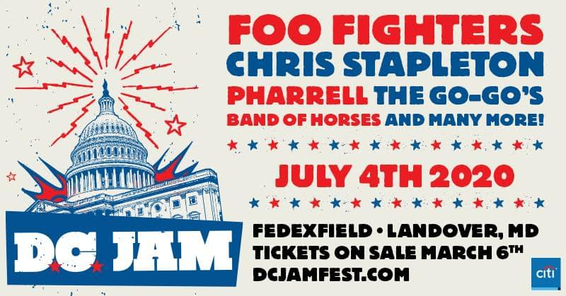 D.C. Jam on July 4th @ FedEx Field