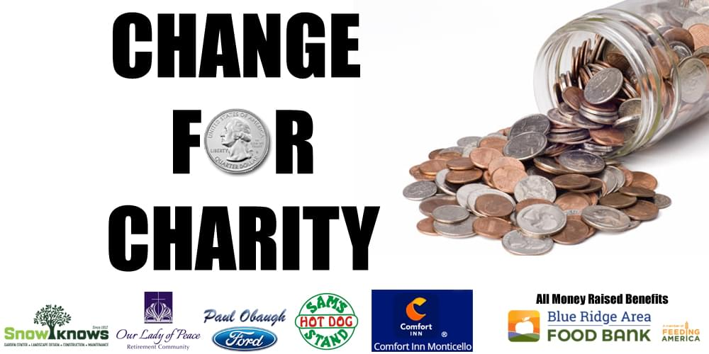 Change For Charity: Coin Donation Drive