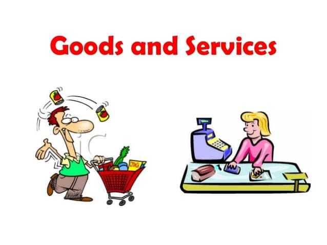 Learn to sell your goods/services