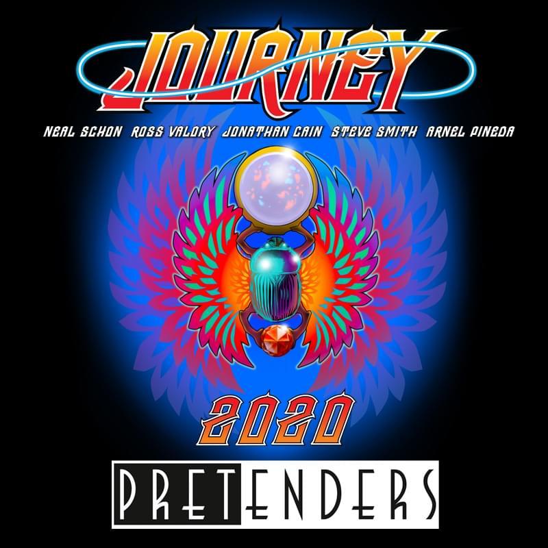Journey and The Pretenders (8/2) @ Jiffy Lube Live & (8/7) @ VA Beach