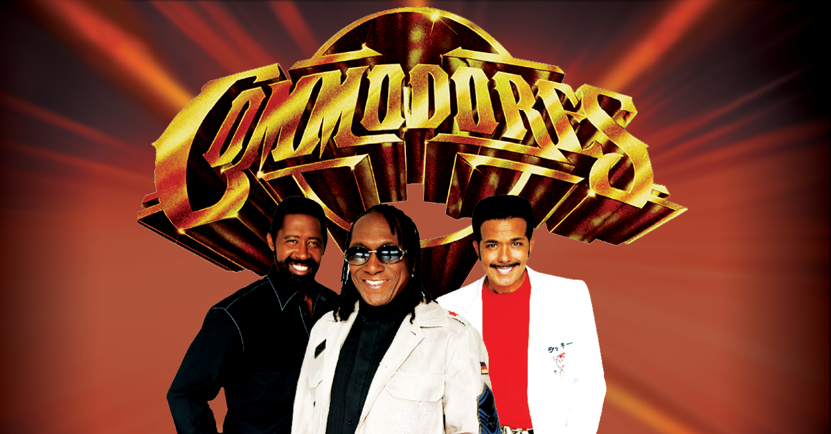 The Commodores:  Thursday, August 26   After Hours Concerts – The Meadow Event Park