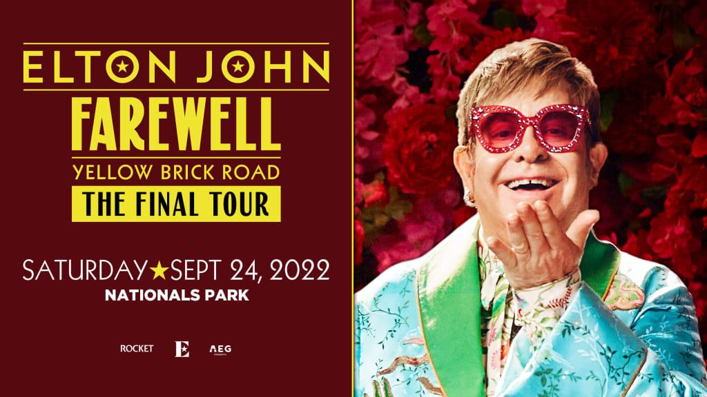 Elton John: Nationals Park, DC: September 24, 2022