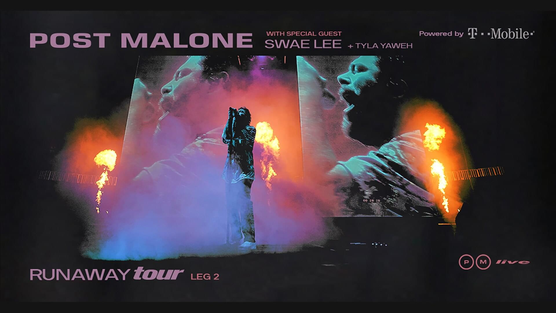 Post Malone — Runaway Tour (2/27) @ Capitol One Arena