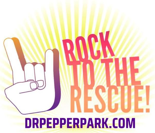 Rock to the Rescue at Dr. Pepper Park