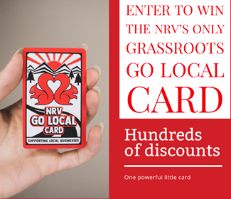 NRV GO LOCAL DISCOUNT CARD GIVEAWAY