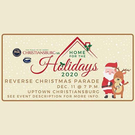 Christiansburg Reverse Christmas Parade