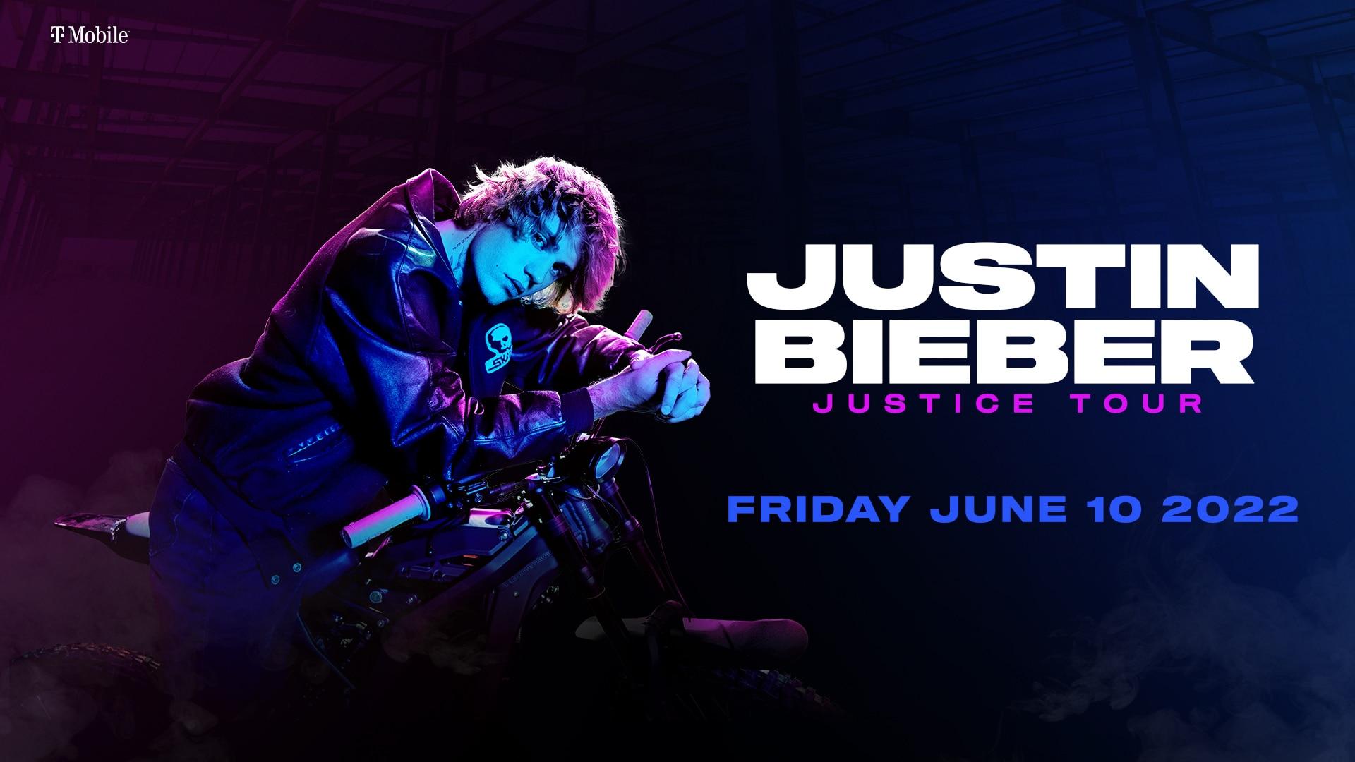 Justin Bieber Justice World Tour: June 10, 2022