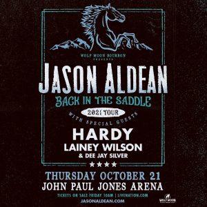 Jason Aldean: BACK IN THE SADDLE Tour 2021