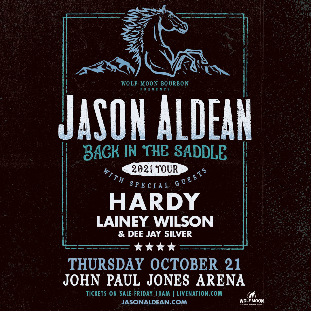 Jason Aldean: BACK IN THE SADDLE Tour 2021