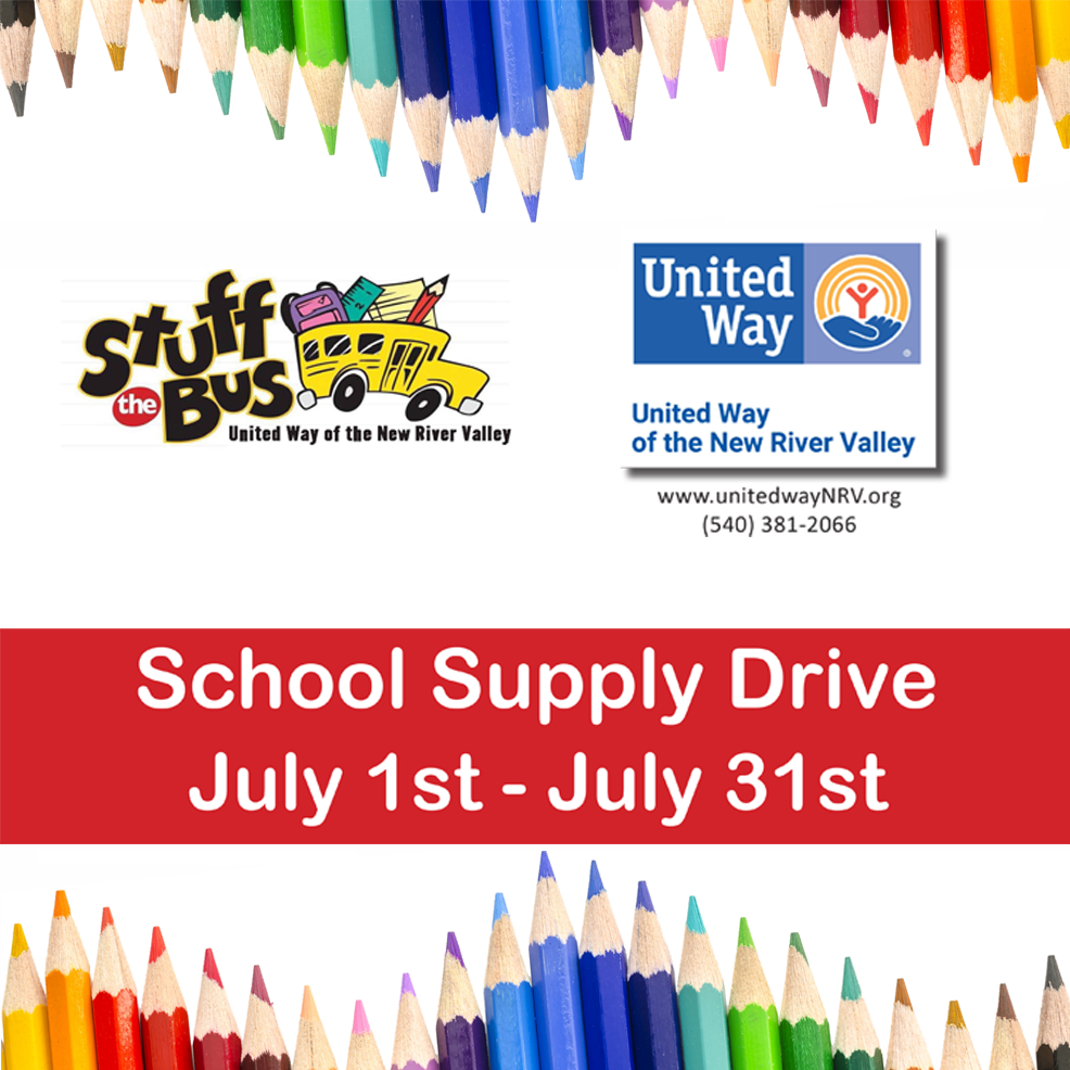 STUFF THE BUS-UNITED WAY NRV