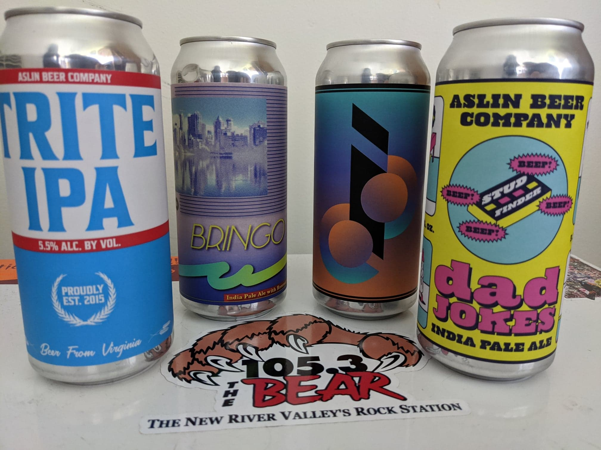 4/21/20 Brewsday Tuesday – ASLIN BEERS