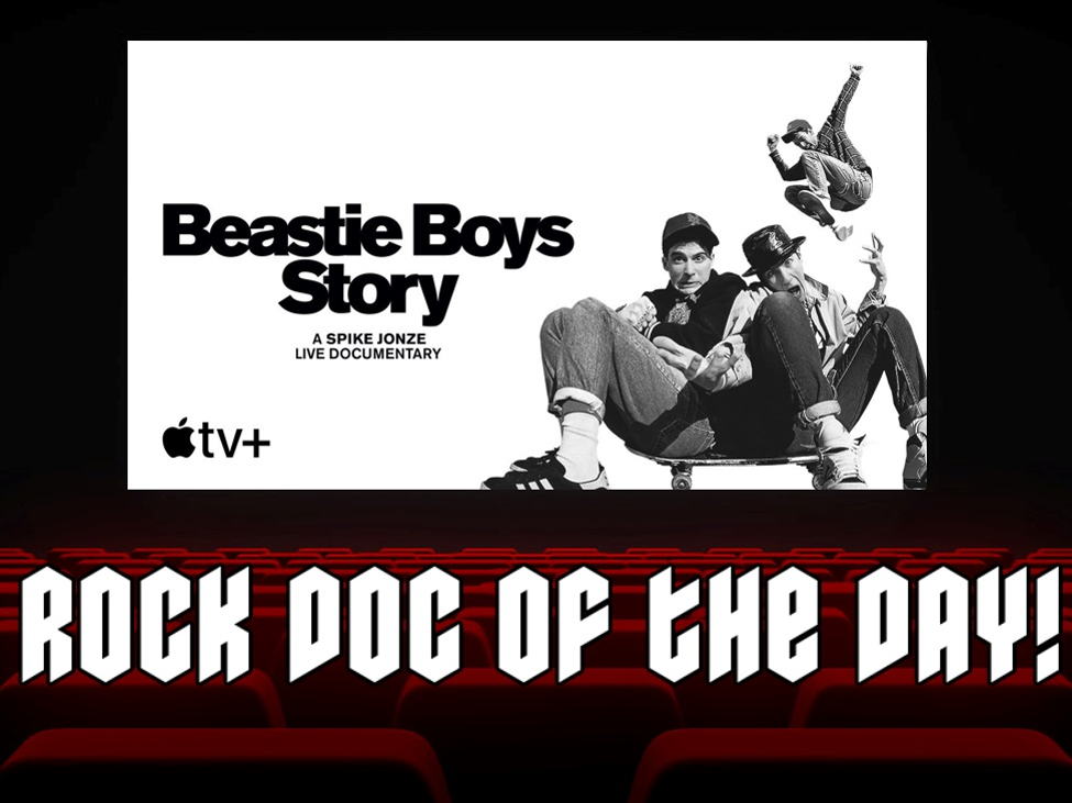 Rock Doc of the Day- BEASTIE BOYS STORY (Apple TV)