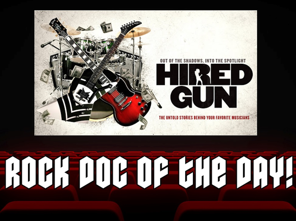 HIRED GUN – The Untold Stories Behind Your Favorite Musicians (Amazon Prime)