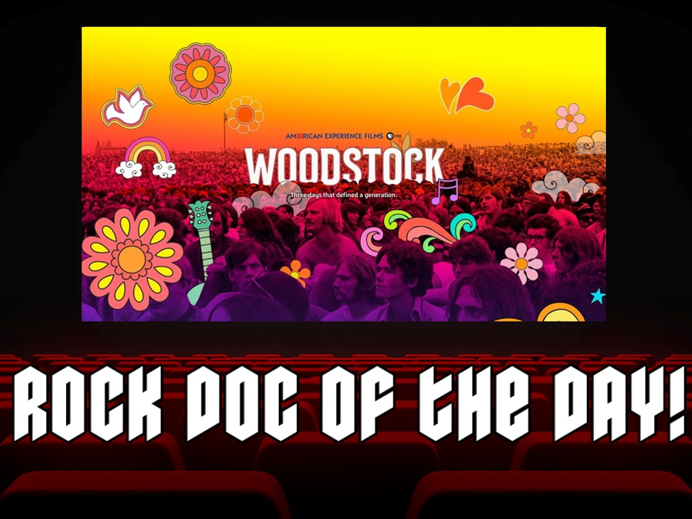 Rock Doc of the Day- WOODSTOCK: Three Days That Defined A Generation (Netflix)