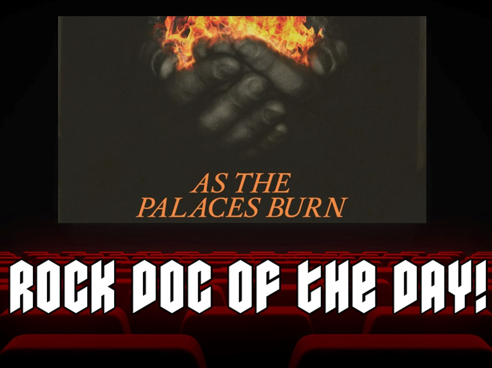 ROCK DOC OF THE DAY- Lamb of God: As The Palaces Burn (Amazon Prime)