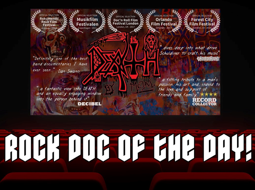 ROCK DOC OF THE DAY: DEATH BY METAL (Amazon Prime)