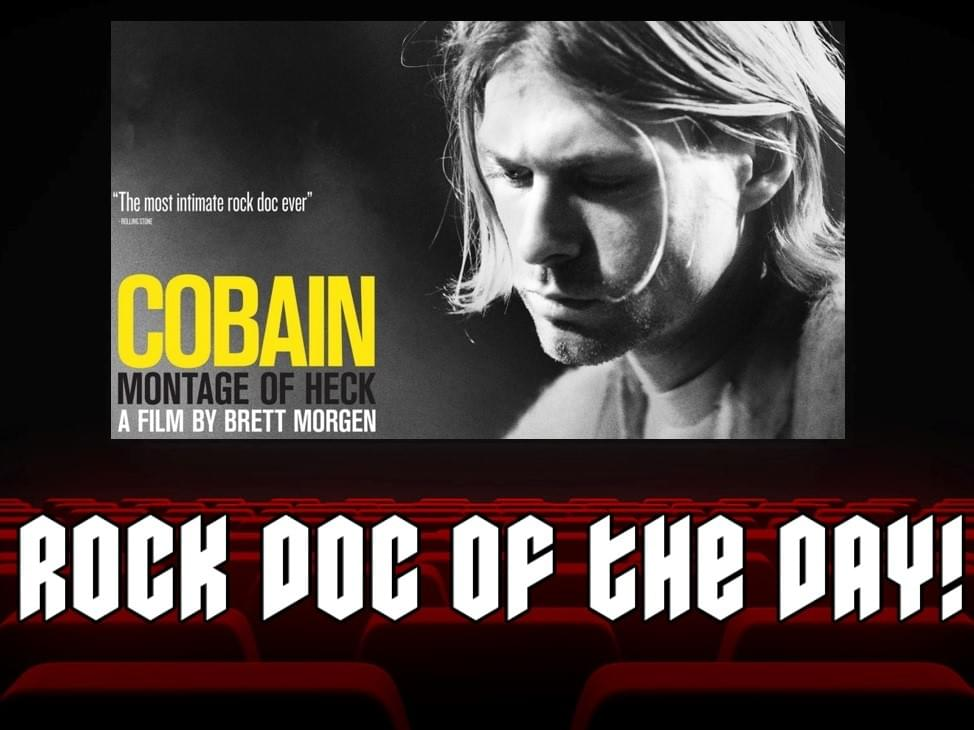 ROCK DOC OF THE DAY- KURT COBAIN: Montage Of Heck (Amazon Prime)