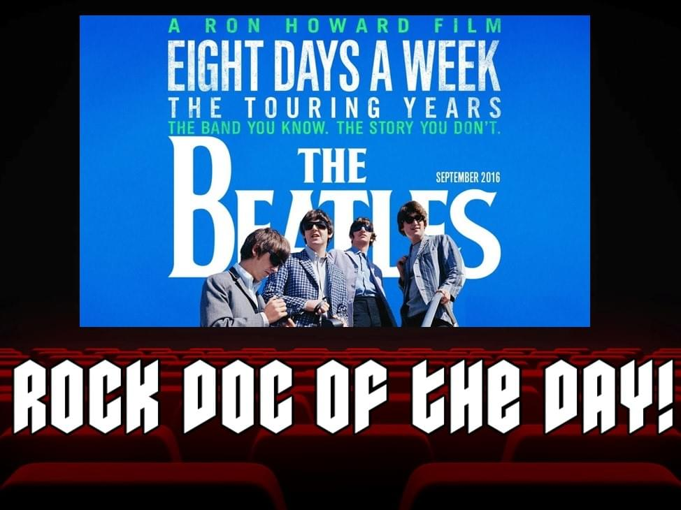 ROCK DOC OF THE DAY- THE BEATLES: Eight Days A Week (Hulu)