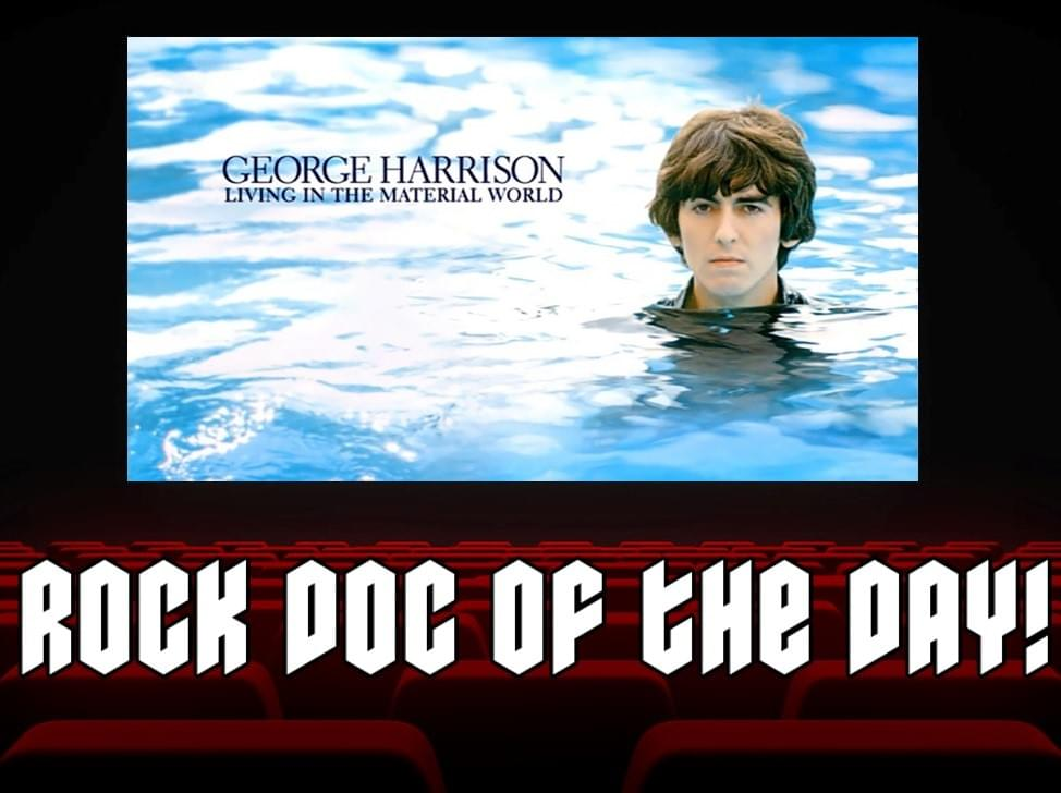 ROCK DOC OF THE DAY – GEORGE HARRISON: Living in the Material World (Sling TV)