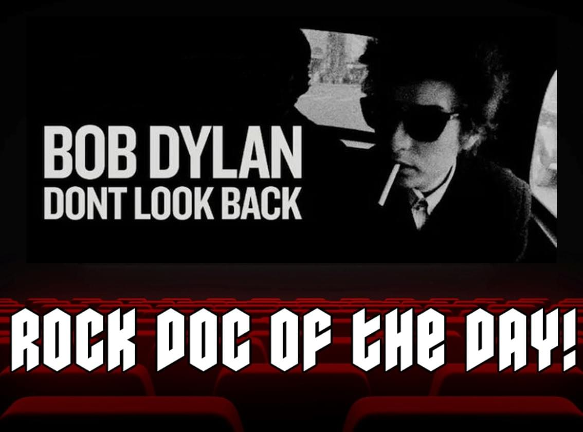 ROCK DOC OF THE DAY- BOB DYLAN: Don't Look Back (HBO MAX)