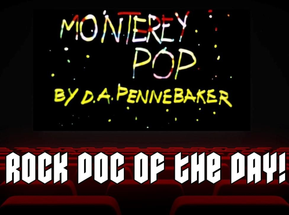 ROCK DOC OF THE DAY- MONTEREY POP (HBO Max)