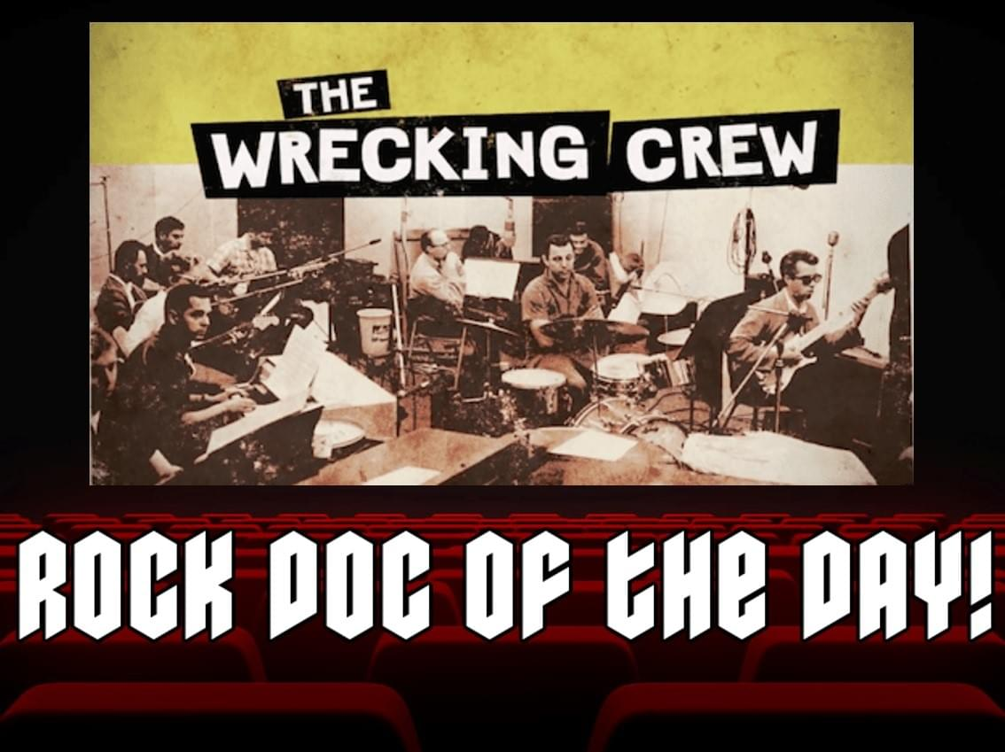 ROCK DOC OF THE DAY- THE WRECKING CREW (YouTube)