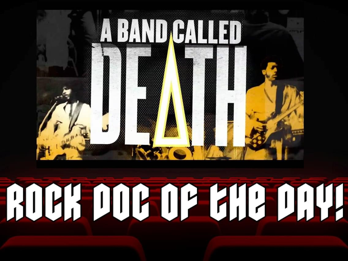 ROCK DOC OF THE DAY-A BAND CALLED DEATH (Amazon Prime/Tubi/Vudu)