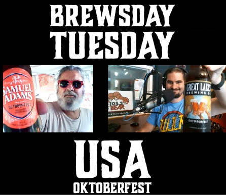 9/8/20 Brewsday Tuesday – USA OKTOBERFEST