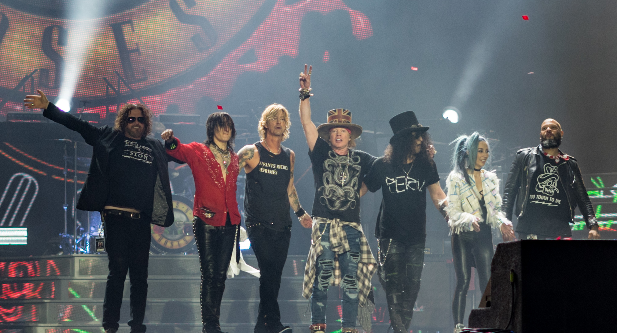 "Guns N Roses announce new album, tentatively titled ""Chinese Democracy II: Electric Boogaloo"" set to hit the streets April 31st!"