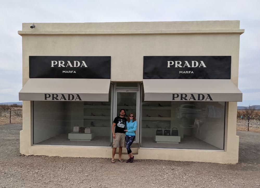 18. Prada, Marfa, TX