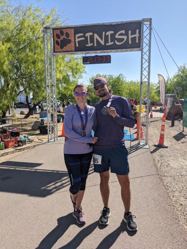 30. Prince's Purple Run Half Marathon, Las Vegas, NV