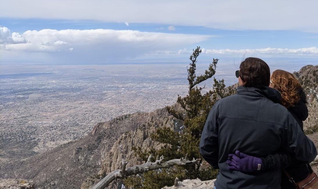 21. Sandia Peak overlooking Albuquerque, NM