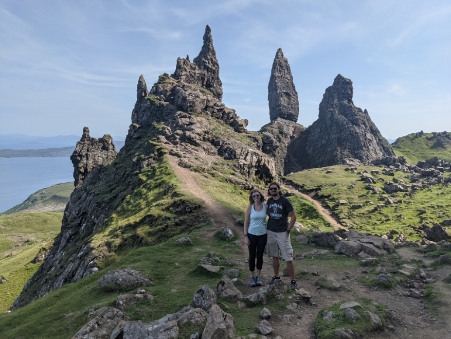 70. Old Man of Storr on the Isle of Skye, Scotland