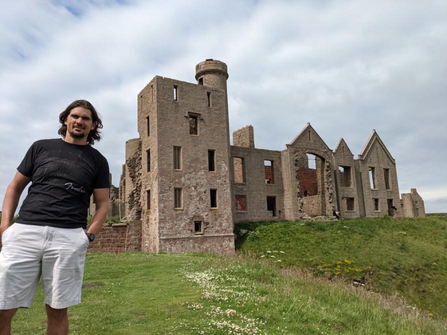61. Slains Castle, Peterhead, Scotland
