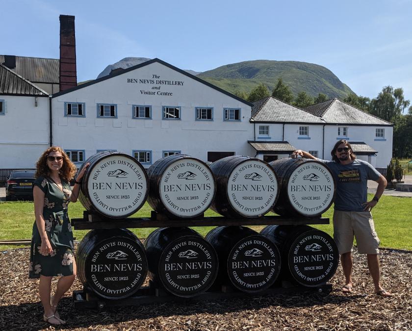69. Ben Nevis Distillery, Scotland