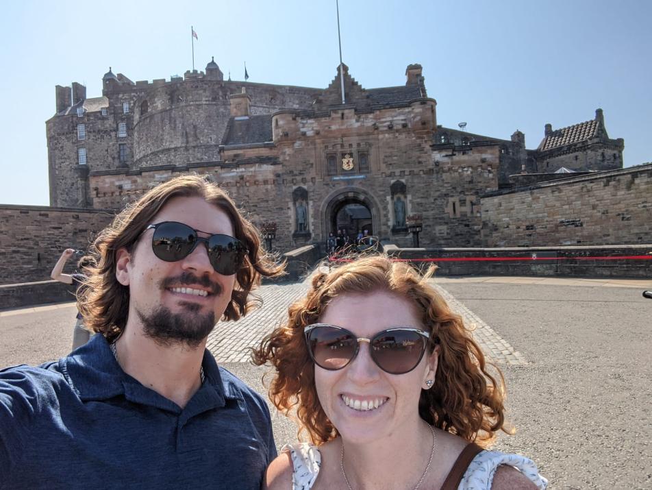 67. Edinburgh Castle, Scotland