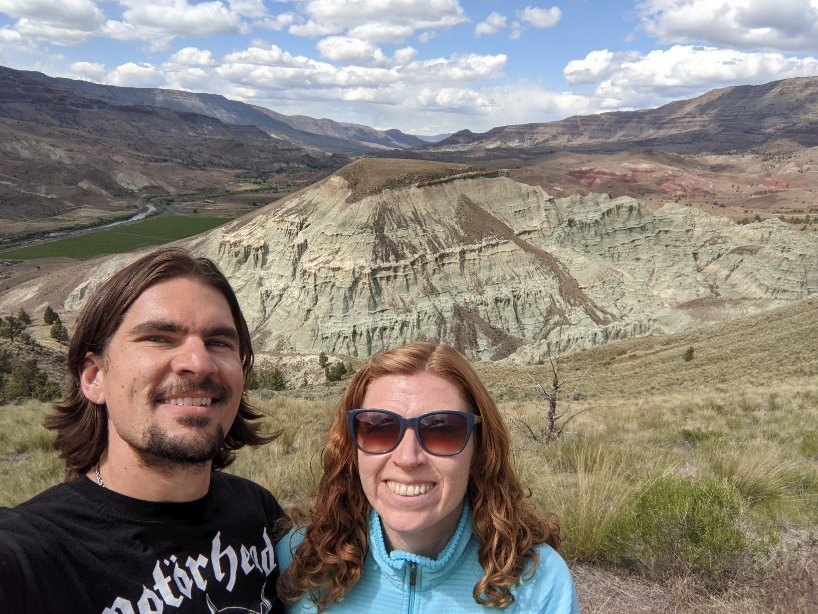 44. John Day Fossil Beds, Kimberly, OR