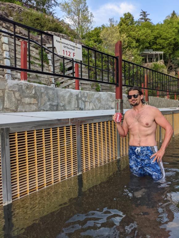 46. Lava Hot Springs, ID