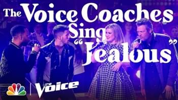 WATCH: 'The Voice' Coaches Perform Nick Jonas' Hit Song 'Jealous'