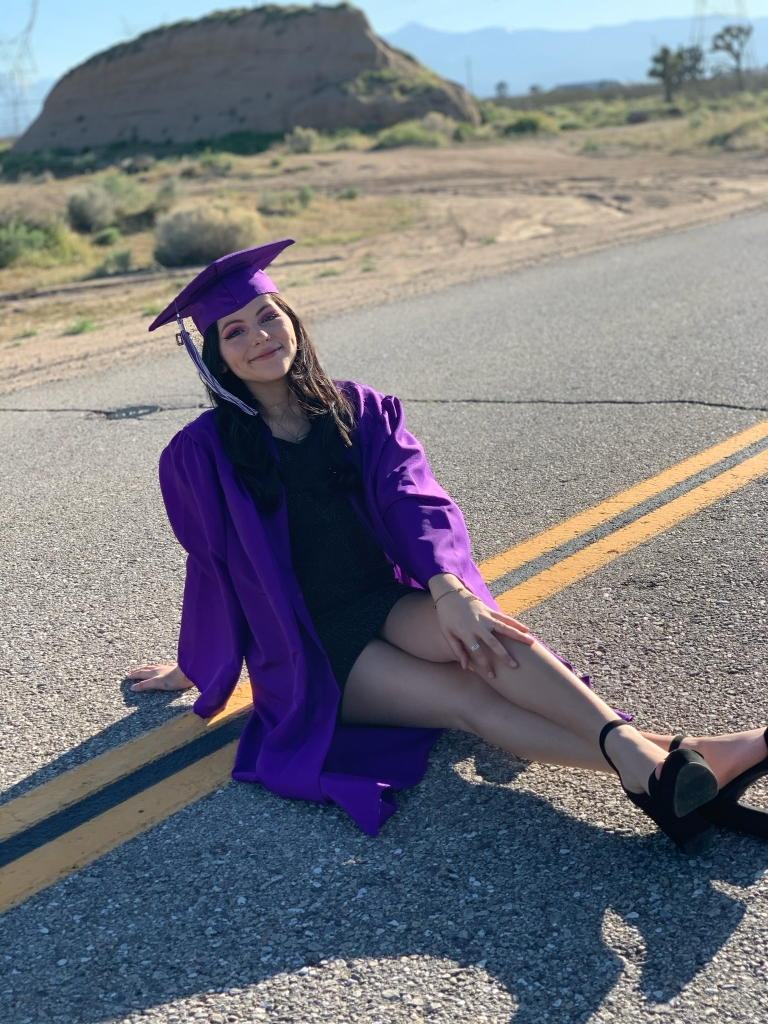 """""""I'd like to thank the teachers that have helped me throughout my time at RCHS and especially Mr. Wallace, my siblings and parents for supporting me and uplifting me through my 4 years of high school."""""""