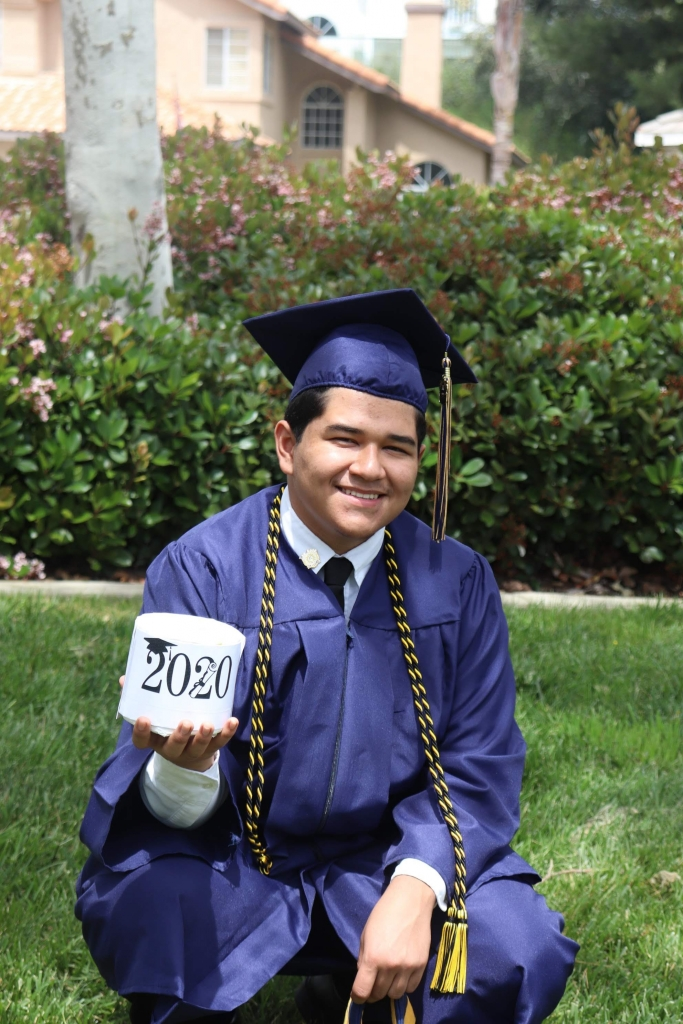 """""""I would like to thank Mr. Solomon (Band Director), Mrs. Encina (Choir Director) and Ramon Gamino for always inspiring me to follow my dreams of music."""""""