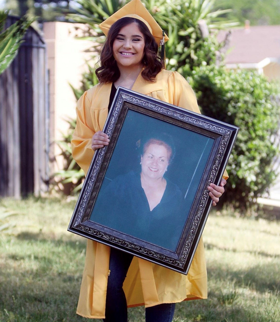 """""""First person I would like to thank is my grandma Lena may god rest her soul, she was always is my biggest inspiration, second my family for the unconditional support to make this all possible! Congrats to all the amazing grads of 2020."""""""