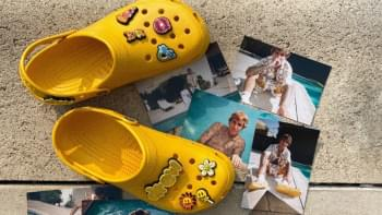 Justin Bieber Announces Crocs Collaboration