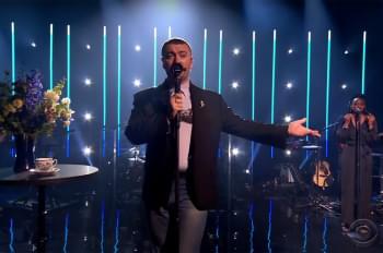 Watch Sam Smith's 'Late Late Show' Performance of 'Diamonds'