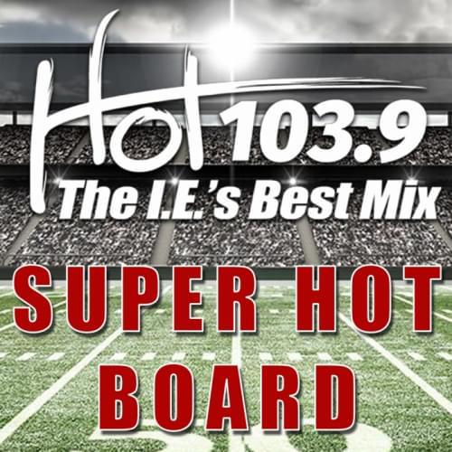 """HOT 1039'S """"SUPER HOT BOARD"""""""